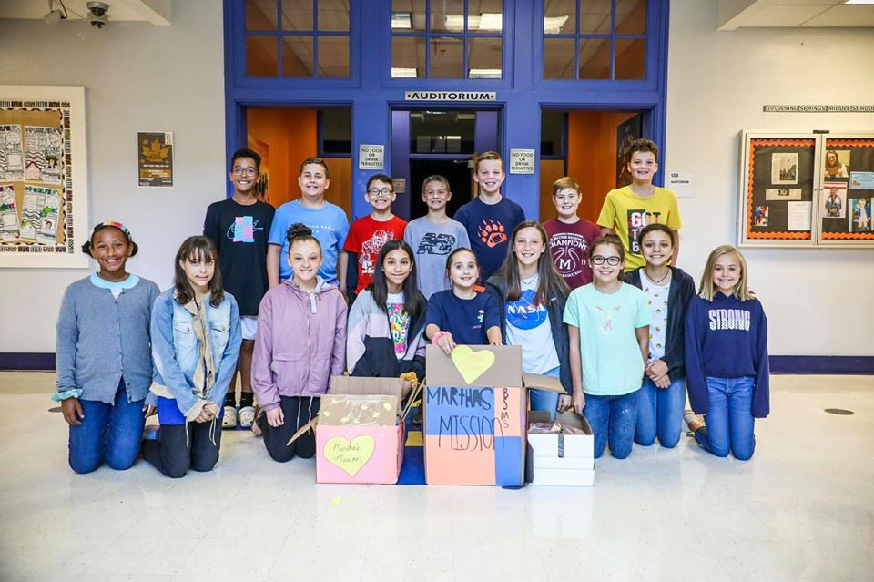 Students Participate in Martha's Mission