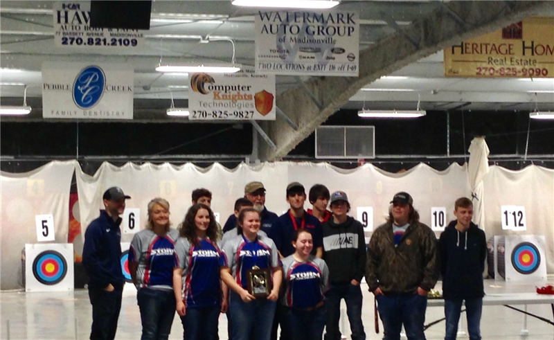Archery Wins at NASP KY Regionals