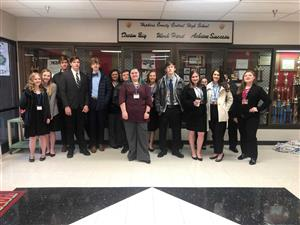 Central Students Place in FBLA Regionals