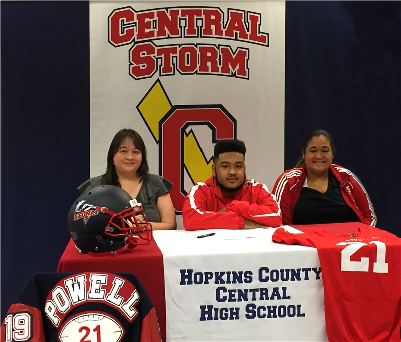 Michael Powell Signs National Letter of Intent
