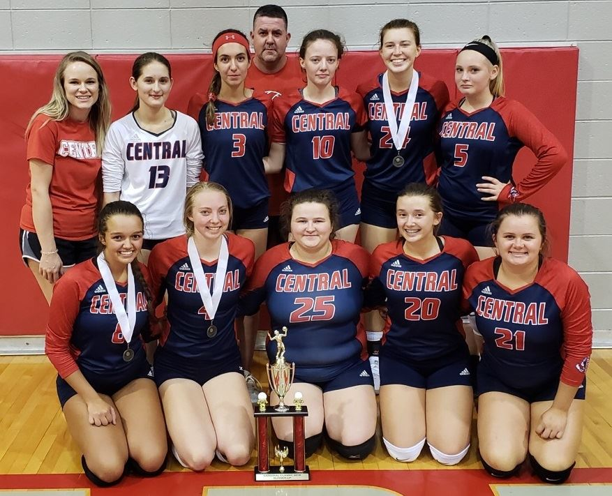 Volleyball team Runner-up at Livingston Central Cardinal Classic