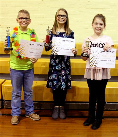 Hanson Talent Winners