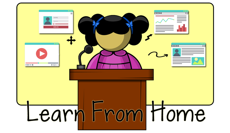 Learn from Home Header