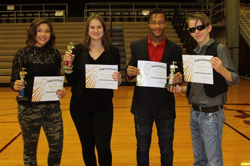MNHHS Talent Show Winners