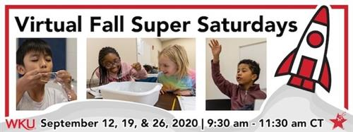 WKU Virtual Fall Super Saturdays