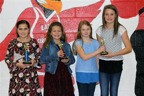 West Hopkins Elementary Winners