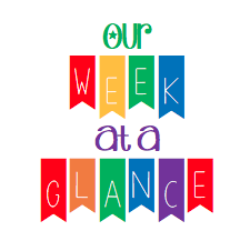 Week-at-a-Glance