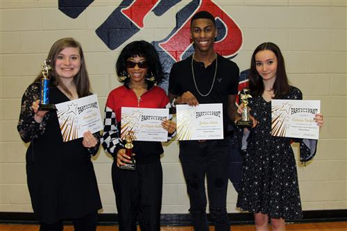 Hopkins County Central Talent Show winners