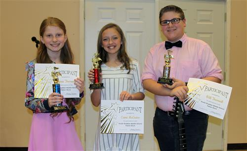 South Hopkins Middle School Talent Show Winners