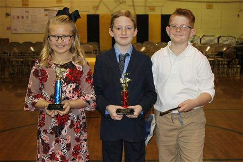 Hanson Elementary Talent Show Winners