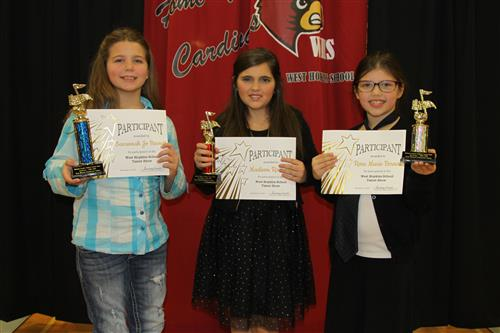 West Hopkins Elementary Talent Show Winners