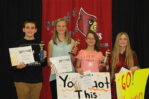 West Hopkins Middle Talent Show Winners