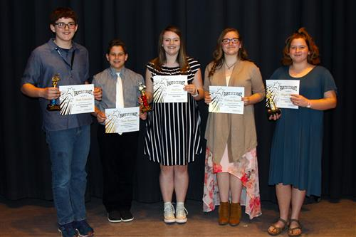 Browning Springs Talent Show Winners