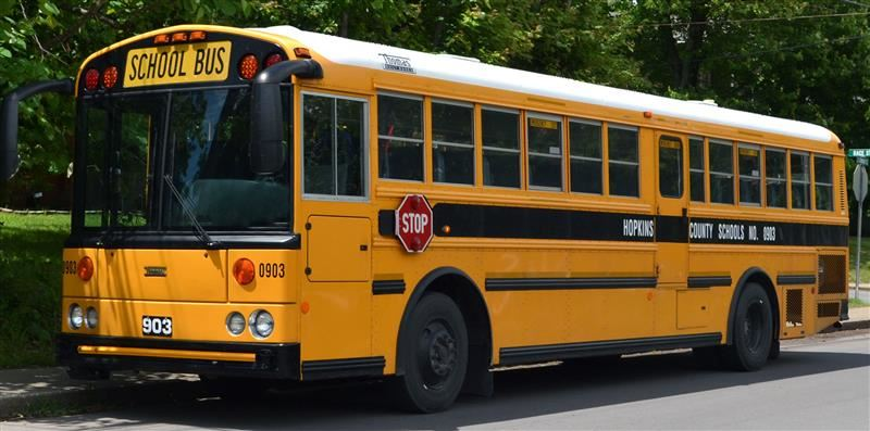 Hopkins County Schools bus