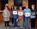 Southside GT Leadership group receives certificates from Board of Education