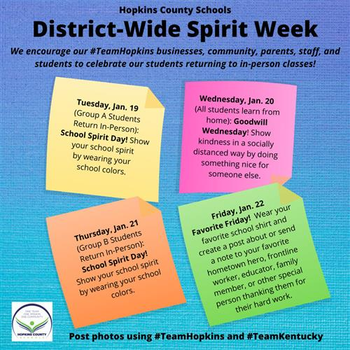 District-Wide Spirit Week