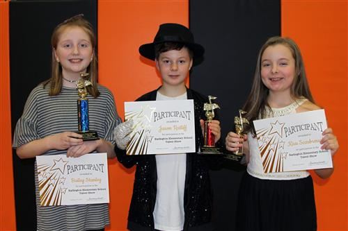 Earlington Elementary Talent Show Winners