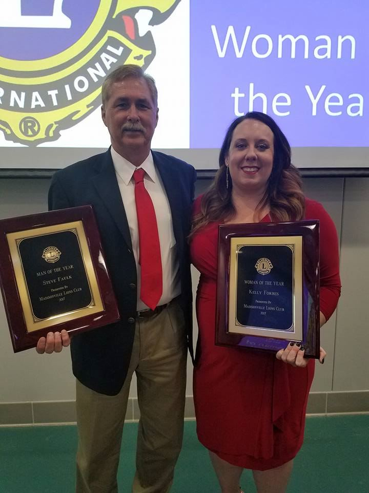 Lions Club Man and Woman of the Year