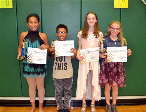 Grapevine Elementary Talent Show Winners