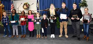 Winners of the MLK Essay Contest