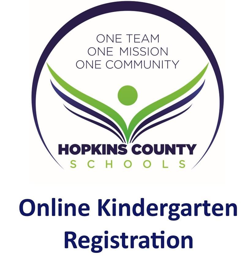 Online Kindergarten Registration with Hopkins County Schools logo