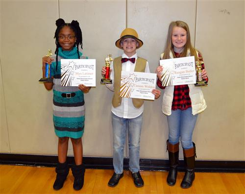 Pride Elementary Talent Show Winners