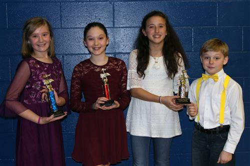 Southside Elementary Talent Show Winners