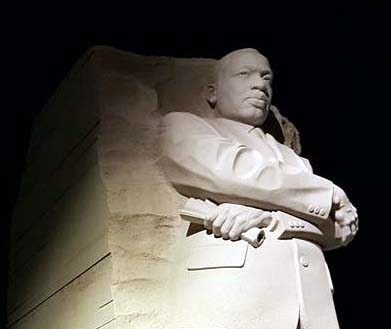 MLK Monument statue in Washington, D.C.