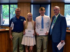 Mary Florence Long Scholarship winners