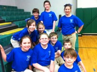 WBES Academic Team - 2nd Place in District & 2nd Place in Region